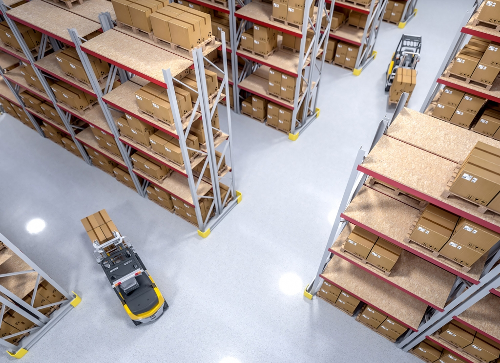 Lagerplanung & Logistikplanung